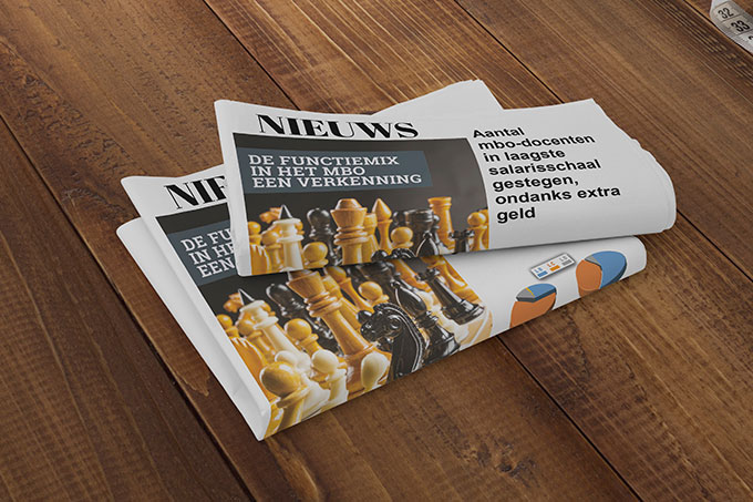 web 680 Platform Newspaper Mockup